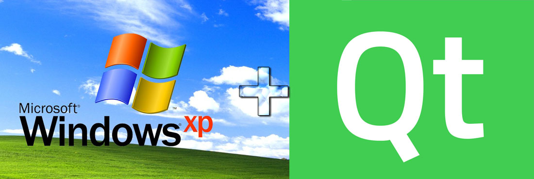 Запустить приложение Qt на win xp