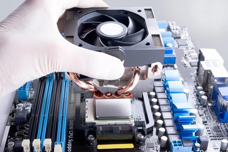 управление скоростью кулера процессора