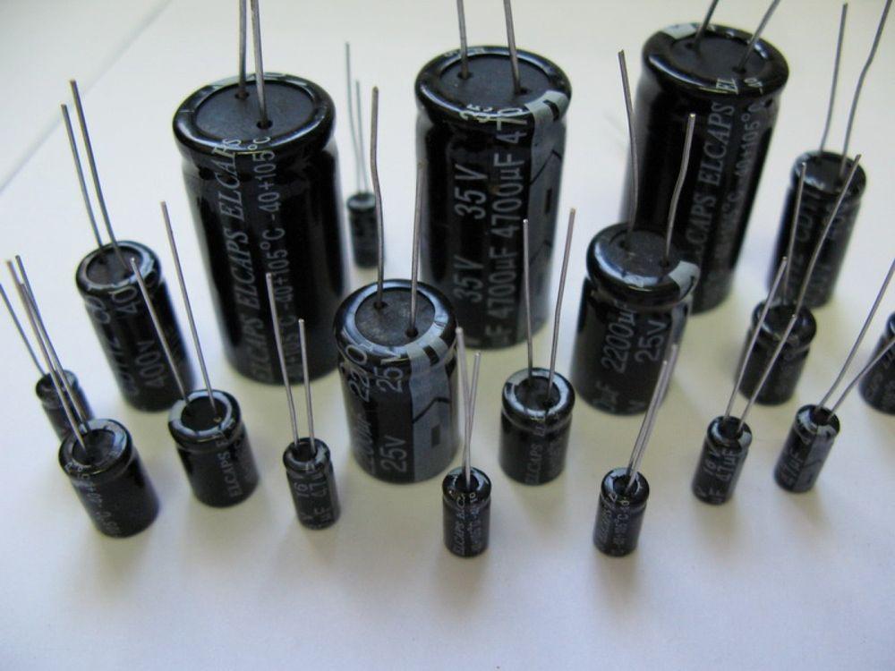 Рейтинг конденсаторов электролитических
