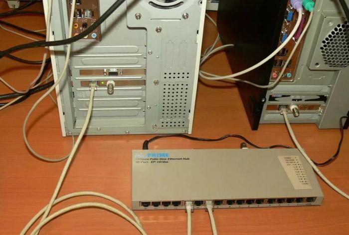 как подключить компьютер к интернету через кабель