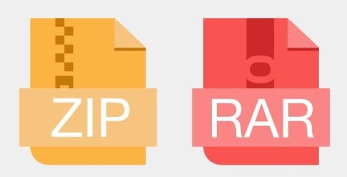 как разархивировать папку с файлами zip