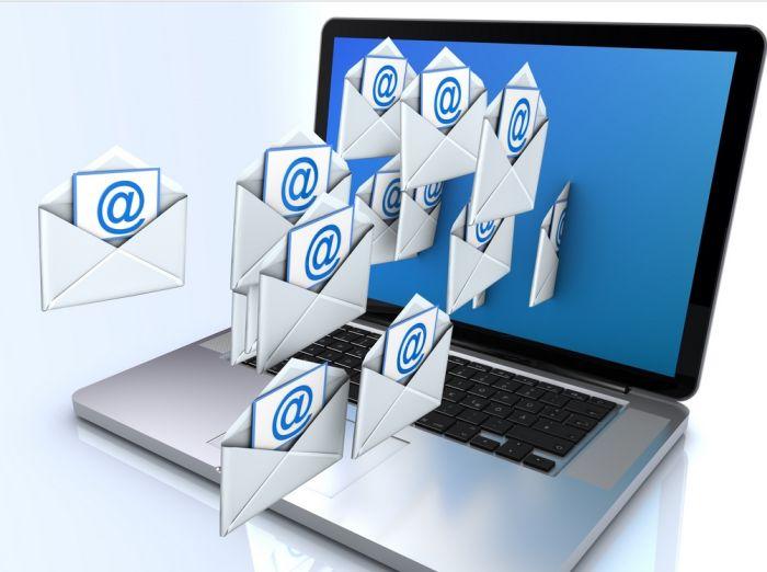 как отправить папку по электронной почте