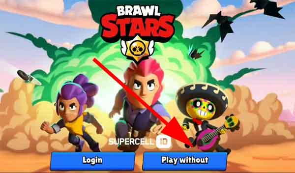 как создать второй аккаунт в brawl stars